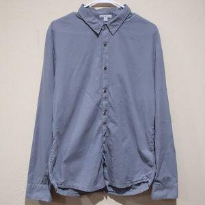 James Perse Standard Shirt sz 2 ( Medium )
